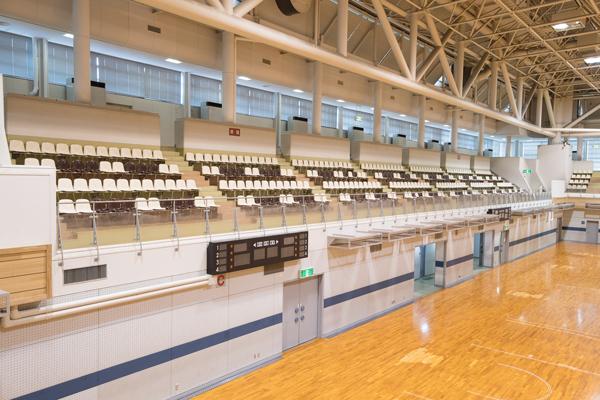 亀岡運動公園体育館アリーナ